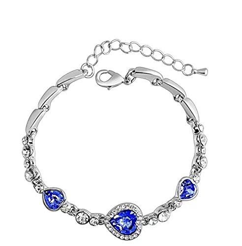 Charming Modischer Damen-Ear Hoop Ohrringe Ohr Ohrstecker/Anhänger/Armband/Geschenk-Box, C4 - C4 Box
