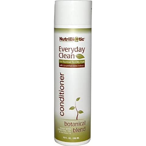 Limpia todos los días, Acondicionador, mezcla de hierbas, 10 onzas líquidas (296 ml) - NutriBiotic