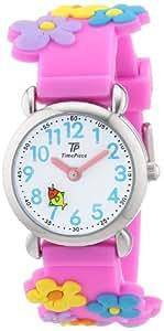Time Piece Mädchen-Armbanduhr TP Kinderuhren Analog Quarz Silikon TPCA-90695-41P