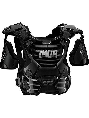 Body Armour Mx Bambino Thor 2017 Guardian Nero-Argento (Default , Nero)