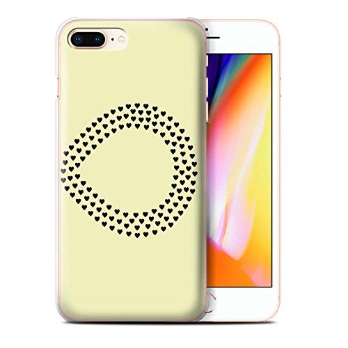 Stuff4 Hülle / Case für Apple iPhone 8 Plus / Daumen Vogel/Recht Muster / Sie & Mich Paare Kollektion Unendlichkeit/Recht