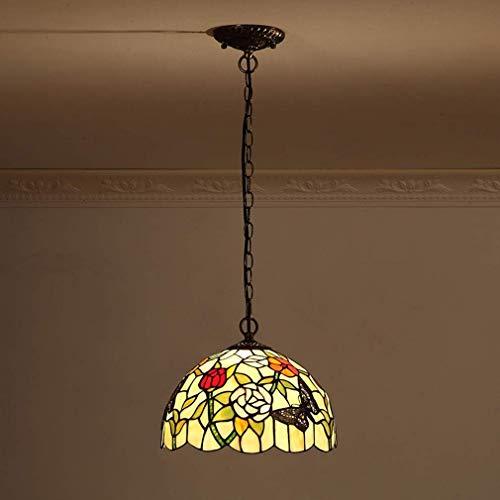 W-LI Pendelleuchte Deco Lampe Glas Hängelampe Höhenverstellbar Vintage Esstisch Speisesaal Lampen Retro Kronleuchter Küche Lampen Lampe -