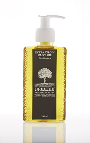 Breathe Aromatherapy Pure Extra Virgin Olive Oil 250 Ml
