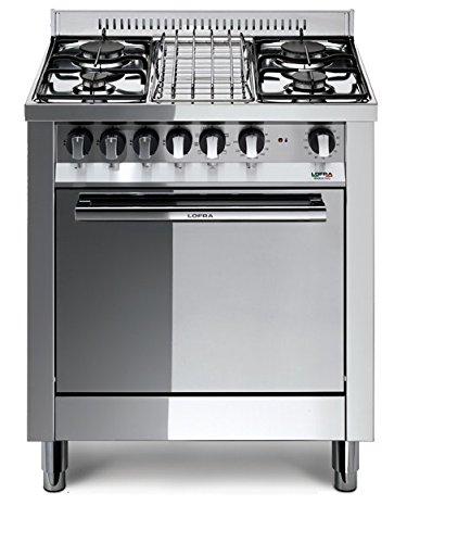 Lofra M75GV Cucina a Gas, Acciaio