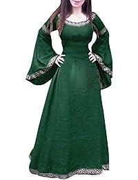 mittelalter kleid grün damen