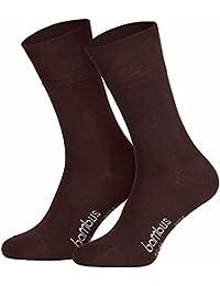 12 Paar superweiche Bambus Socken für Sie und Ihn - Optimaler Tragekomfort - Kein drückendes Gummi - Ideal für Business, Sport und Freizeit