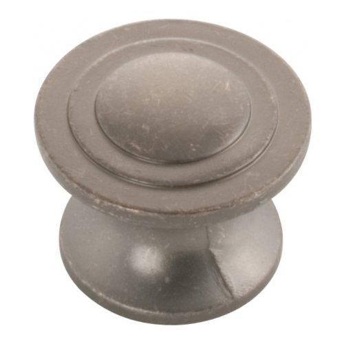 Hickory Hardware P3101-DAC 1.25 In. Deco Dunkle Antique Copper Cabinet Knob - Antique Copper Knob