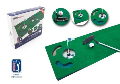 PGA-TOUR-Indoor-Putting-Set--Putting-Matte-mit-Putter