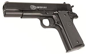 Replique Pistolet Billes Colt M1911 A1 Culasse Metal Spring Hpa 100eme Anniversaire180116 0.5 Joule Airsoft