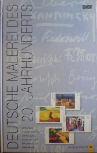 deutsche-malerei-des-20-jahrhunderts-ein-buch-mit-originalbriefmarken-und-stempeln-mit-informationen