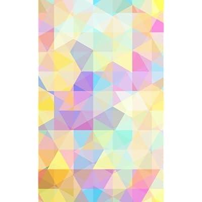 Carnet de Mots de Passe: A5 - 98 Pages - 124 - Motifs Geometriques - Triangles - Couleurs