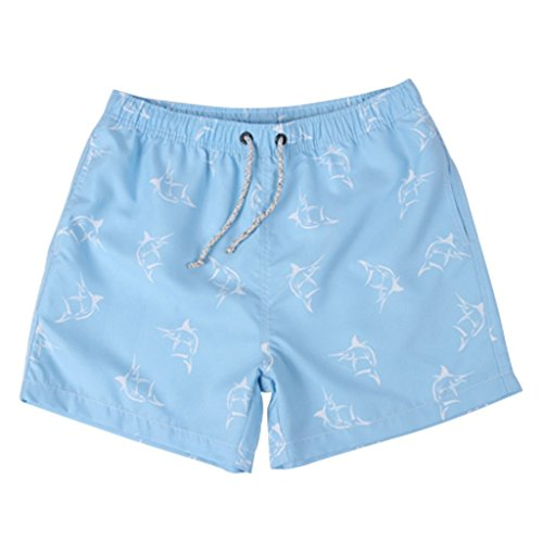 gwell-herren-badeshorts-schnelltrocknend-badehose-sommer-strand-hell-blau-l