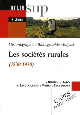 Les socits rurales (1830-1930)