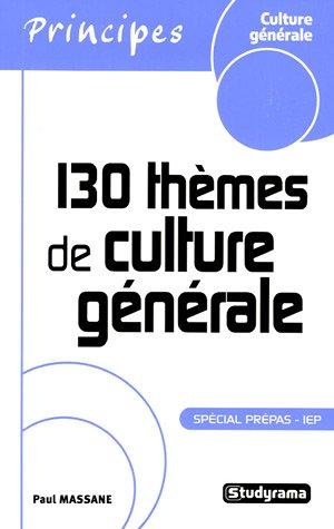 130 thèmes de culture générale