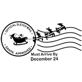 Santas North Pole Post Mark