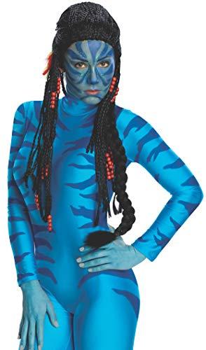 Damen Für Kostüm Erwachsene Avatar Neytiri - Rubies 3 51996 - Avatar Neyitiri Deluxe Perücke