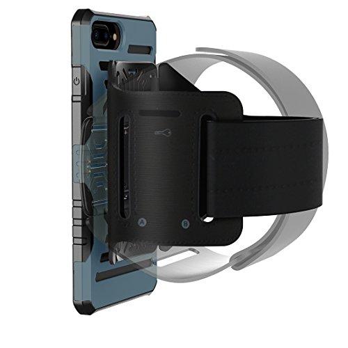 Multifunktions-Outdoor-Sport-Armband mit abnehmbarem PC + TPU Kombi-Etui für iPhone 7 Plus by diebelleu ( Color : Silver ) Dark blue