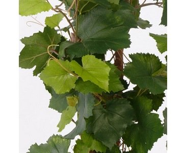Rebstock, UV safe, 136 Blätter, Höhe ca. 120cm – künstlicher Rebstock – Kunstbäume