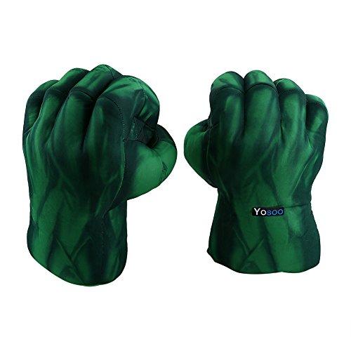 Guantes Hulk, 1 Par Guantes Boxeo Suaves Felpa Hulk