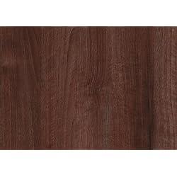 d-c-fix 346-8072 - Lámina adhesiva (vinilo, 67,5 cm x 2 m), diseño de madera de nogal, color marrón