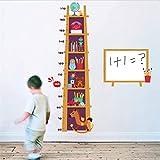 Kinder Spielzeug Leiter Höhe Maßnahme Wandaufkleber Für Kinderzimmer Dekor Cartoon Pvc Wachstum Chart Wandtattoos Diy Wandbild Poster