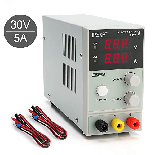 DC Power Supply, 0-30V / 0-5A IP...