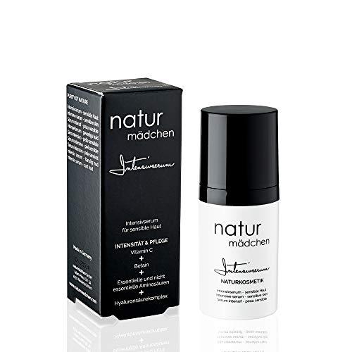 naturmädchen Anti-Aging Hyaluron - Intensivserum mit Aminosäuren und Vitamin C, vegane Naturkosmetik 30ml / Made in Germany - Mädchen Natur