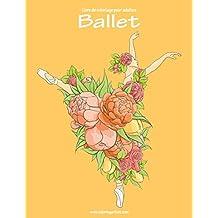 Livre de coloriage pour adultes Ballet 1