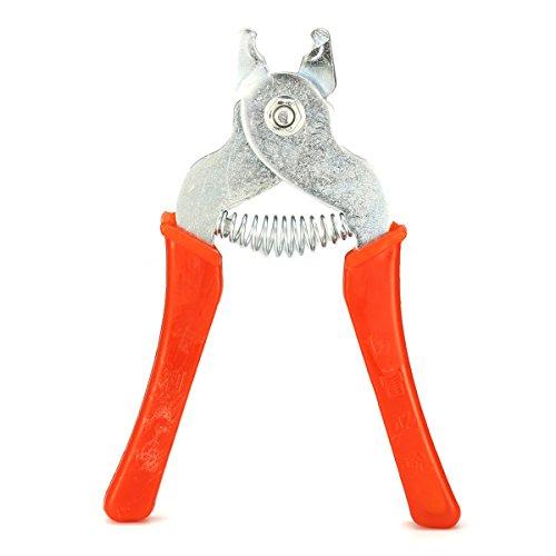 Alicates para anillos de caza, herramienta de rejilla de malla para aves y aves