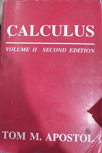Calculus: Volume 2