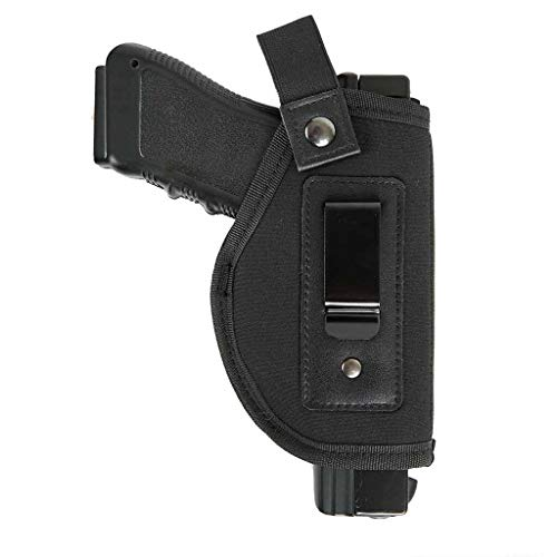 DecoDeco Inside Waistband Holster se Ajusta a M & P Shield 9 mm.40.45 Auto/Glock 26, 27, 29, 30, 39, 28, 33, 36, 43 / Ruger LC9 Pistola compactas Oculta Carcasa IWB