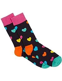Mesdames Hommes et 1 paire Happy Socks Coeur coton peigné Chaussettes