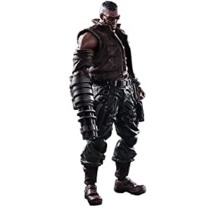 Freaks and Geeks - Final Fantasy 7 Remake, Play Arts Kai N°2, Barret Wallace