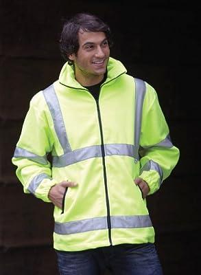 Hi-Vis Fleece-Sicherheitsjacke