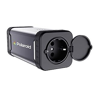 Polaroid PS100 Energiespeicher 84Wh, Mobile AC/DC Steckdose, AC 220V, 80W Ausgangsleistung, wiederaufladbar (Heim/Solar)