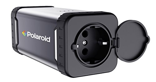 Polaroid PS100 Bloc d'alimentation 84 Wh, Prise AC/DC Mobile, Puissance de Sortie 220 V 80 W, Rechargeable (Solaire)