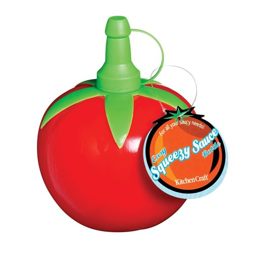 Kitchen Craft Easy Squeezy Soßenspender in Tomatenform