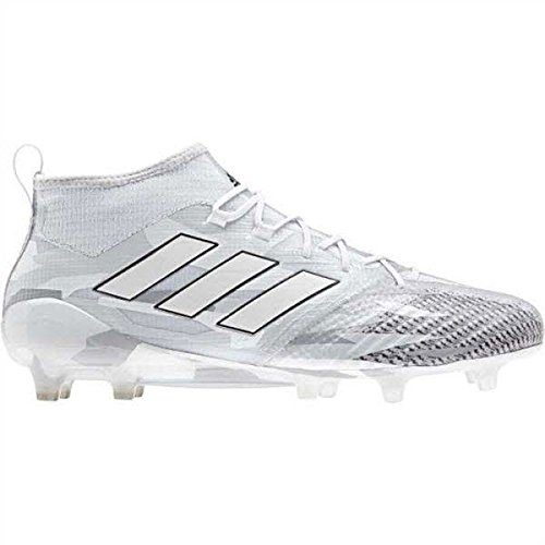 Adidas Damen Boot (adidas Ace 17.1 Primeknit FG Football Boots - Clear Grey/White/Core Black - Size 9)