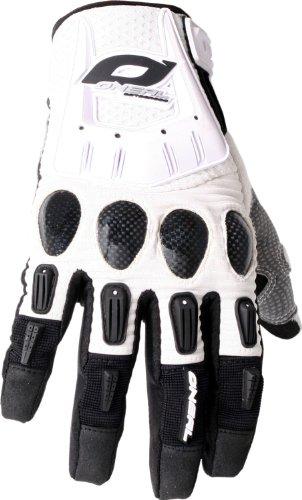 O' Neal Butch Carbon guanti bianco motocross enduro Carbon schoner, 0478-2