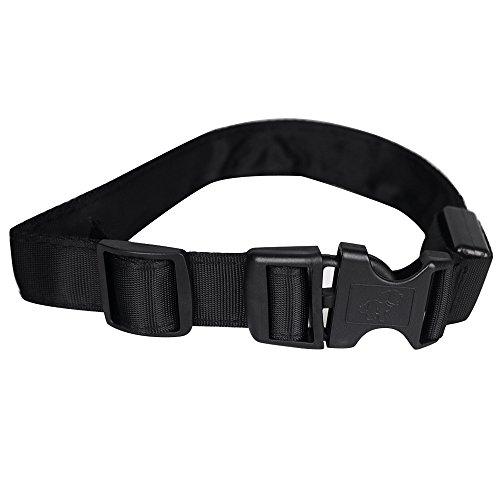 Easylifer LED Halsband Hund Sicherheit Blinkt Leuchthalsband für Hunde, Katzen(Rot, XL) - 3
