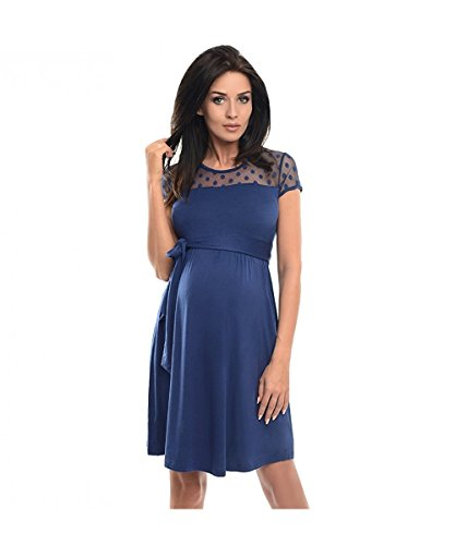 Dressing Maternity Damen Kleid Gr. M, Jeans -