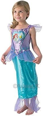 Ariel - Vestido Loveheart - Disney Princess - Chidlrens Disfraz