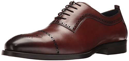 Steve Madden Men's Cerra Oxford, Tan Leather, 13 M US - Madden Oxford Steve