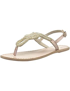 PIECES Carmen Leather Sandal Damen Zehentrenner