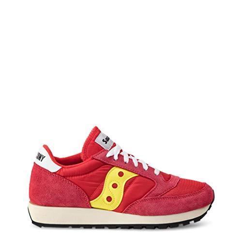 Saucony Herren Jazz Original Vintage Sneaker, Rot (Red/Yellow 56), 45 EU