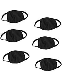 6 Pcs Dust/Anti Pollution Protective Face Mask Mouth & Nose Respirator Outdoor (Pack Of 6 Mask)