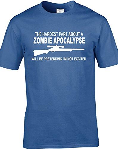 The walking dead inspired parte di più, apocalisse degli Zombie per adulti, unisex, T-Shirts. consegna gratuita inclusi. Indaco