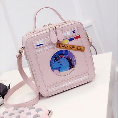 Frauen Handtasche Schöne CasualShoulder Tasche Blushing Pink