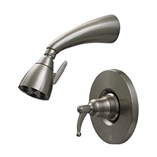 Alfi Trade 614.838SH-ORB 2.62 in. Blairhaus Adams pressure balance valve with showerhead and bell-shaped lever handle- Oil Rubbed Bronze