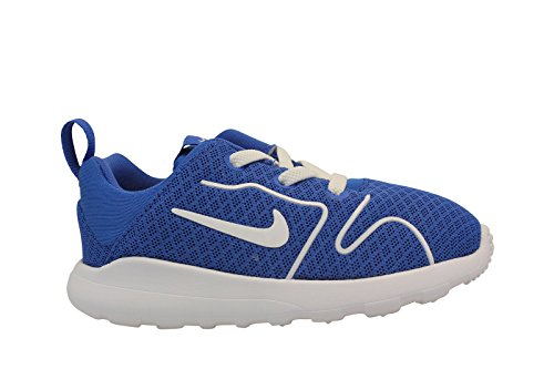 Nike Kaishi 2.0 (Td), Sneakers basses mixte bébé Azul (Game Royal / White)